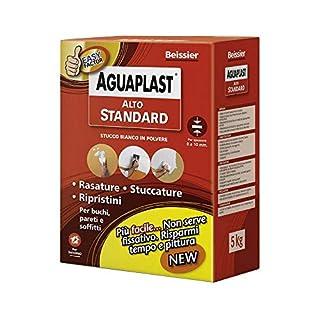 Stucco in polvere ad alte prestazioni AGUAPLAST ALTO STANDARD vari formati - KG.5
