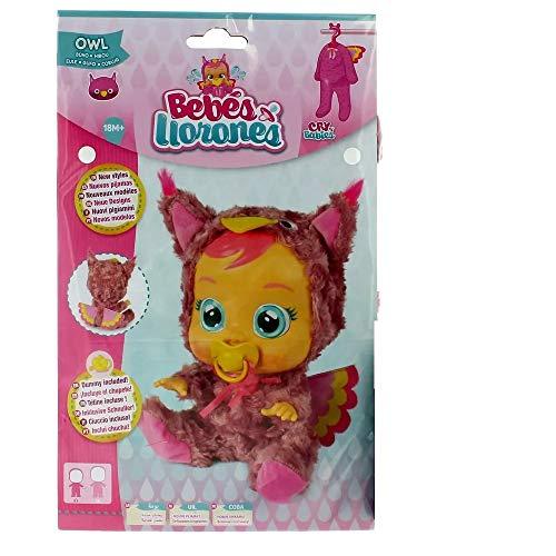 Bebés Llorones Cry Babies,, Pijama Buho (IMC Toys 99159)