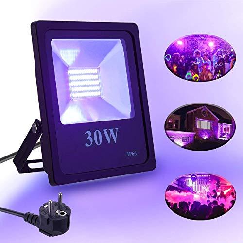 Airmood 30W LED Flutlicht-Patio-Beleuchtung Im Freien Mit Fernbedienung, Farbwechsel LED-Sicherheitslichter Für Aquarium Stage Party KTV Bar Weihnachtsfeier