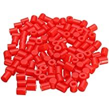 Rishil World 300pcs 6 X 7mm Round Button Cap Hat Suitable For 8.5 X 8.5mm/8 X 8mm Series Of Self-Locking Switch