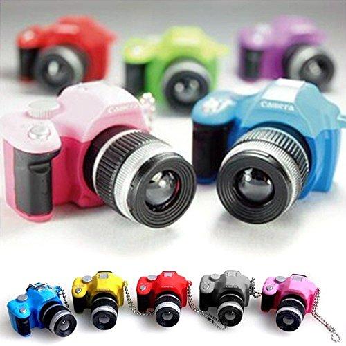 Mini-Digital-Spiegelreflexkamera-Taschenlampe, DSLR-Kamera mit LED-Licht, Verschlussgeräusch