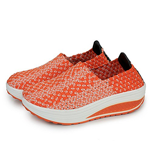 XiaoYouYu Fitness Shoes, Basses femme Orange