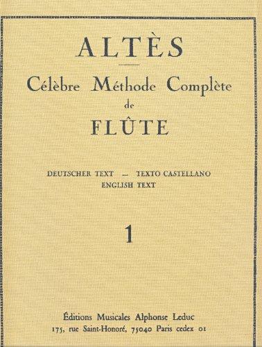 ALTES - Metodo Vol.1: Partes 1 y 2 para Flauta (Ed.Original) (Caratge) por ALTES