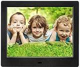 MRQ 8 Inch Digital Photo Frame Full HD Display 180 Degree...