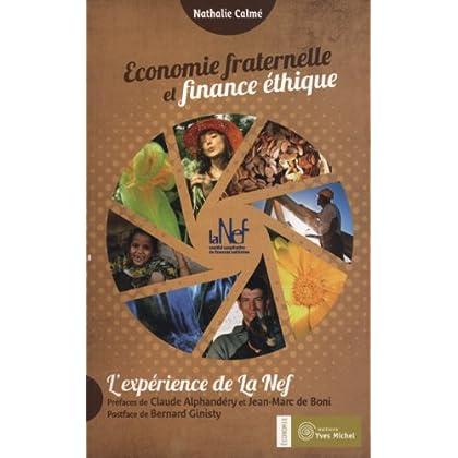 Economie fraternelle et finance éthique : L'expérience de la Nef
