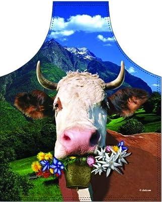 Schürze Alpenkuh Kuh Oktoberfest NEU Grillschürze