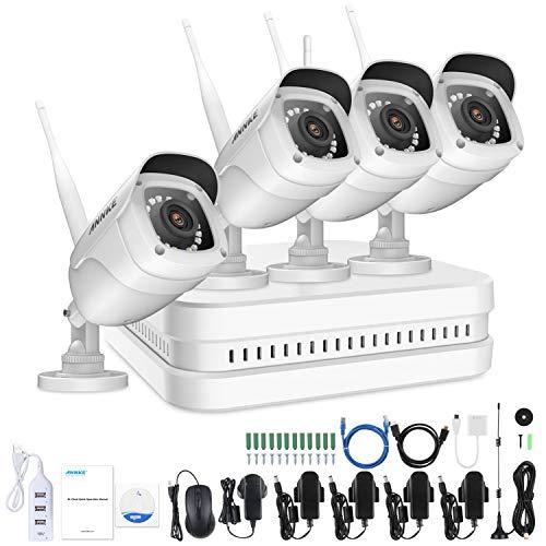 segno CCTV Cane da Guardia IP fotocamera Allarme registrazione 24 H-ADESIVO esterne