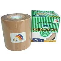 Temtex - Kinesiology tape 7,5x5 1 ud, talla 7,5 cm x 5 m, color beige