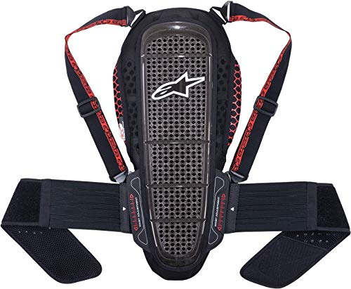 Alpinestars Rückenprotektor Alpinestars Nucleon KR-1 Backprotector Black/Smoke/red, XS