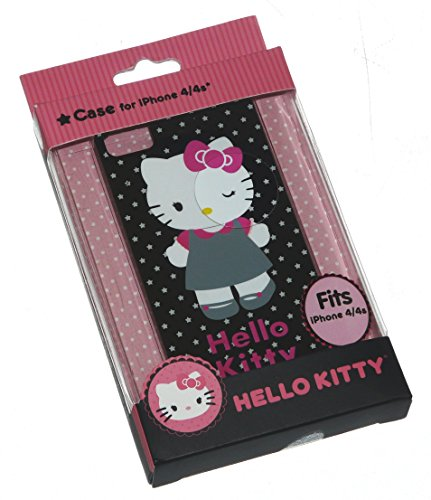 Schutzhülle für iPhone 4 / 4S, Motiv Hello Kitty (Kitty Personalisierte Geschenke Hello)