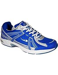 Mens Aero ComfitPro Sprint Lawn Bowling Shoes White/Blue