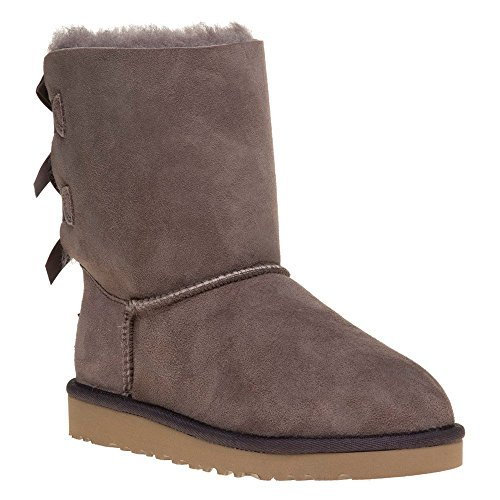 Bottine, color Marron , marca UGG, modelo Bottine UGG K BAILEY BOW Marron
