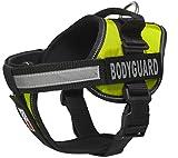 Dogline Unimax multifunktionsunterhemd Geschirr für Hunde und 2Abnehmbaren Bodyguard Patches, XS, grün