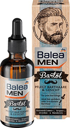 Balea MEN Bartöl, 50 ml, ÖKO-TEST SEHR GUT Magazin Ausgabe 5/2017