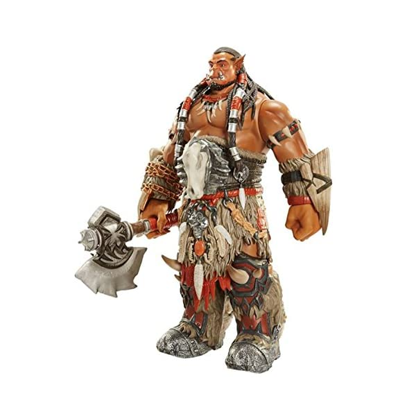 Warcraft Limited Edition Durotan Deluxe Action Figure, 18 by Warcraft 1