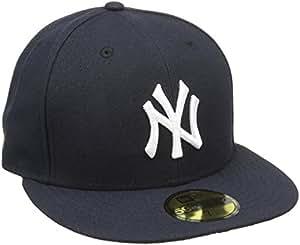 New era 59Fifty casquette bonnet pour adulte nY yankees mlb authentic fitted team colour Bleu Bleu 6 7/8