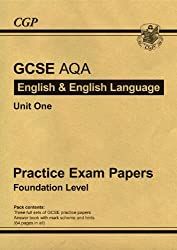 GCSE English AQA Practice Papers - Higher: Practice Exam Papers: Higher Level by CGP Books (2011-01-13)