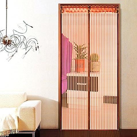 Rugai-ue Mosquito Rideau fenêtre écran Rideau Ménage Partition chiffrement Silencieux D