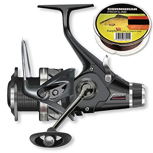 Cormoran - CorCraft BR 5PiF 3500 4BB - Freilaufrolle + GRATIS Karpfenschnur 400m