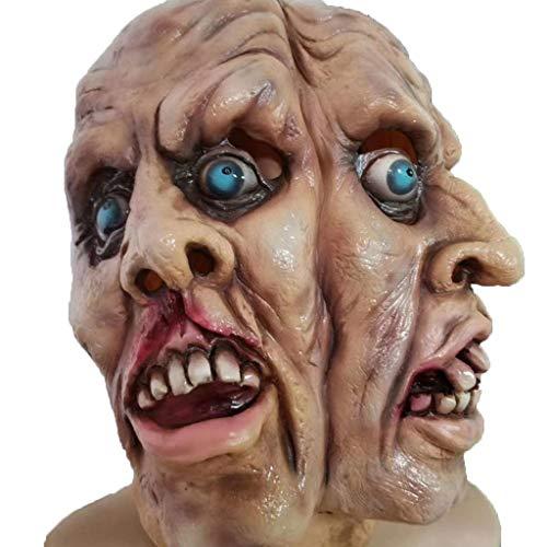 JHLD Halloween Schrecklich Maske, Dämon Das Böse Tot Cosplay Requisiten, Für Halloween Festival Party-A-1 (Fett Kostüm Für Jungs)