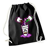 Certified Freak Purple Drank Gymsack Black