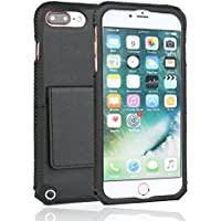Custodia iPhone 7 Plus, Coodio Custodia in Pelle + GRATUITA Supporto Magnetico Auto iPhone 7 Plus, Ultra Sottile Custodia in Pelle Cover con Porta Carte, Funzione Stand Per iPhone 7 Plus