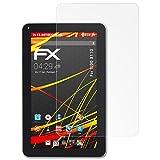 atFolix Schutzfolie kompatibel mit XIDO X110 Bildschirmschutzfolie, HD-Entspiegelung FX Folie (2X)