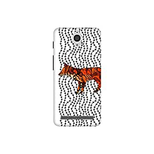 The Racoon Lean Imprint hard plastic printed back case / cover for Asus Zenfone C ZC451CG