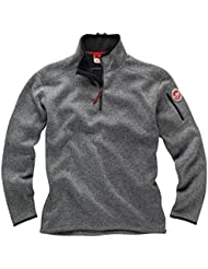 2016 Gill Mens Knit Fleece in Silver 1491