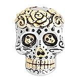 KUSTOM FACTORY Charms Skull Dia de Los Muertos pour Pandora