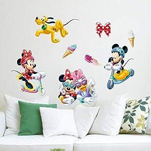 Aufkleber Kinderzimmer Minnie Maus | Deine-Wohnideen.de