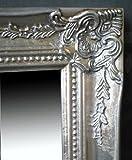 Spiegel Wandspiegel Flurspiegel ISABELLA antik silber Barock 46,5 x 37 cm - 2