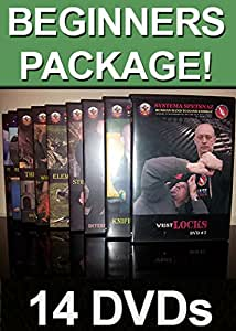 Systema Spetsnaz - Russian Martial Arts 10 DVD set - 25% OFF!