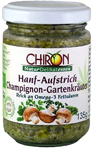Bio Hanf-Aufstrich Champignon-Gartenkräuter kbA 135g