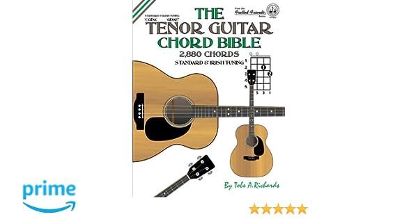 The Tenor Guitar Chord Bible Standard And Irish Tuning 2880 Chords