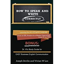 How to Speak and Write Correctly (Annotated) - Softcover
