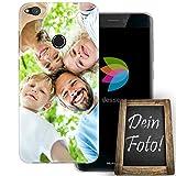 dessana Eigenes Foto Transparente Silikon TPU Schutzhülle 0,7mm Dünne Handy Tasche Soft Case für Huawei P8 Lite (2017) Personalisiert Motiv