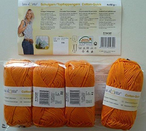 ecole-fil-100-coton-4-x-50g-fb-0153-orange-de-cointreau