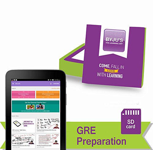 BYJUS GRE Preparation 7 Days Trial Pack (SD Card)