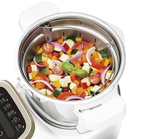 Krups Prep & Cook HP5031 Multifunktions-Küchenmaschine (1.550 Watt, bis zu 12.000 U/min, inklusive hochwertigem Zubehör) -