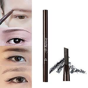 Generic Black: 2016 New Arrival Professional Women' s Fashion Stylish Soft Makeup Cosmetic Autorotation Eye Liner…
