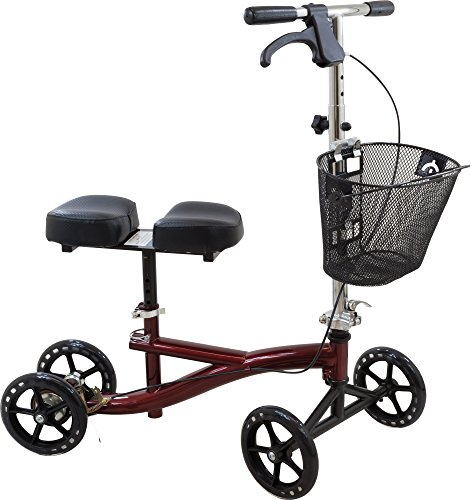 roscoe-knee-scooter-with-basket-burgundy-ros-ksbg