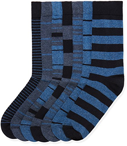 Marchio Amazon find. 7 Pack Ankle Sock Calze Uomo