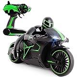 deAO Radiocomande Moto de Course *GP* avec Batterie Rechargeable Incluse