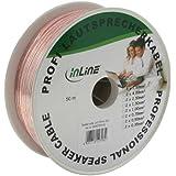 InLine 98150T Câble 50 m Transparent (Import Allemagne)