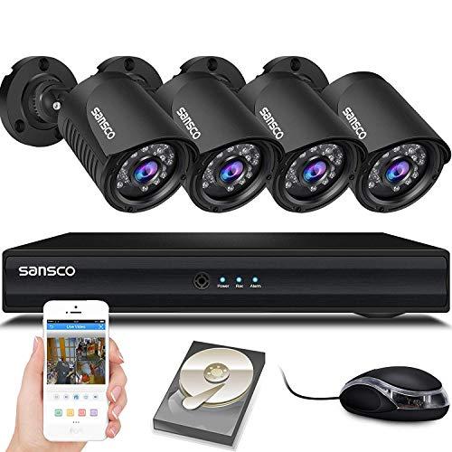 SANSCO Smart HD CCTV Security Ca...