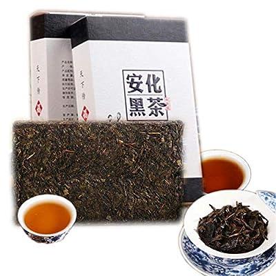 Thé Pu Erh chinois 1000g (2.2LB) Thé Puer mûr Thé noir Fleur doré brique