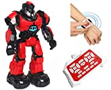 Jack Royal Crazon Smart Watch Enabled Remote Control Robot ( Multi ) (red)