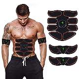 GoYun EMS Muskelstimulation Elektrostimulation,Abs Stimulator Bauchtrainer,Trainer,Bauchmuskeltrainer,Elek