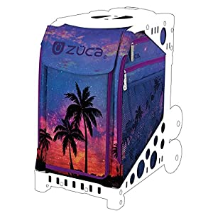 Zuca Insel Life Sport Tasche (nur Tasche)–Beautiful Sunset und Palmen Design